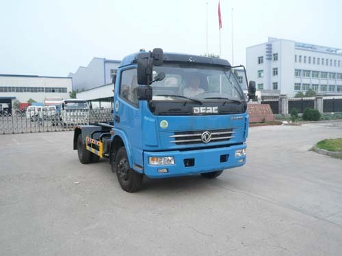 楚飞东风多利卡(4.5吨)车厢可卸式垃圾车