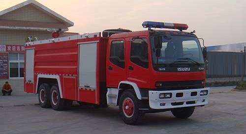 湖北合力水罐消防车