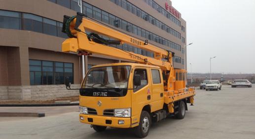 厦工楚胜12米14米16米高空作业车-EQ1060NJ20D3