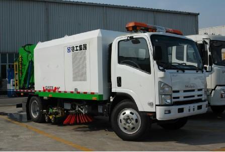 徐工XZJ5101TXSQ4(5T)清扫车高清图 - 外观