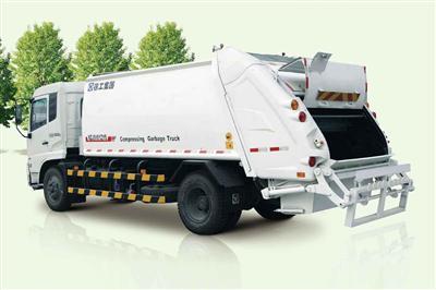徐工XZJ5250ZYSA4(12T)压缩式垃圾车高清图 - 外观