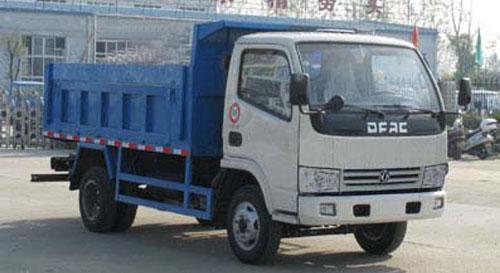 湖北合力自卸式垃圾车-EQ1050TJ20D2高清图 - 外观