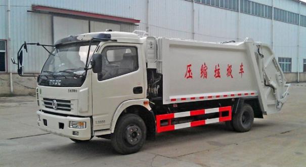 湖北合力东风多利卡压缩式垃圾车-DFA1110SJ11D3
