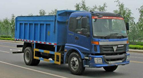 湖北合力自卸式垃圾车-BJ5163ELFFA高清图 - 外观