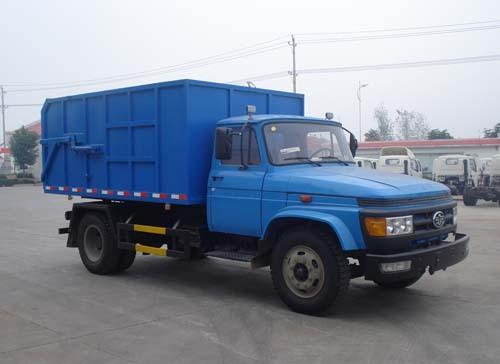 楚飞解放尖头3.5吨密封式垃圾车
