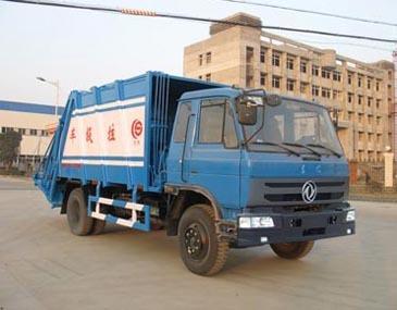 楚飞东风153(6.0吨)压缩式垃圾车