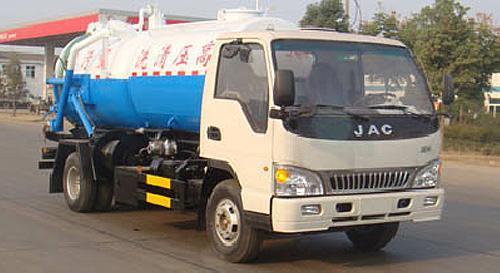 湖北合力5090GQW型清洗吸污车