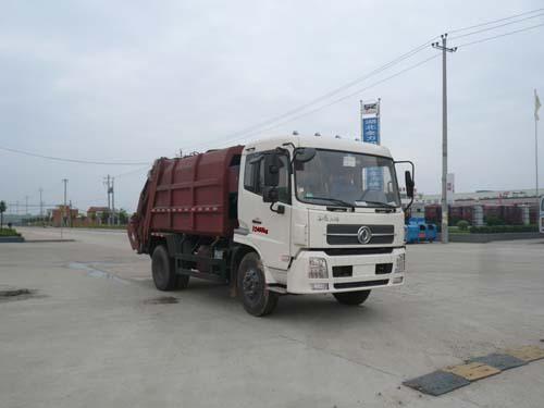 楚飞国四东风天锦(4.6吨)压缩式垃圾车