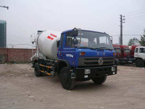 楚飞东风(2.5立方)混凝土搅拌运输车