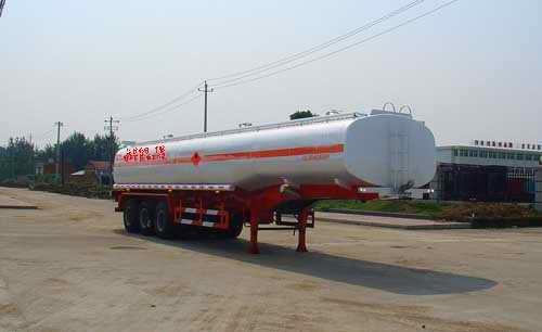 楚飞三轴化工液体(45立方)运输半挂车