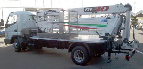 航天晨光CGJ5083JGK混合臂式高空作业车高清图 - 外观