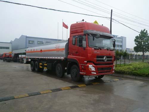 楚飞东风天龙前四后八(27.8立方)化工液体运输车