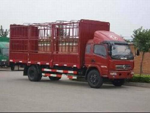 楚飞东风牌EQ5160CCQL12DFAC型仓栅式运输车