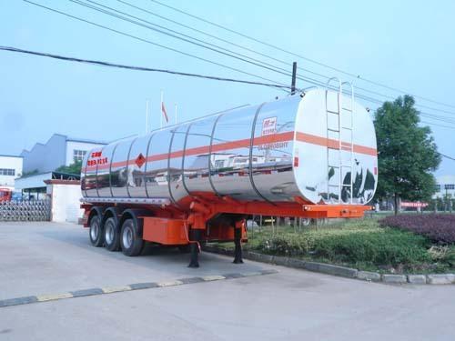 楚飞易燃液体(三轴/50立方)罐式运输半挂车
