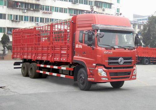 楚飞东风牌DFL5200CCQAX10型仓栅式运输车高清图 - 外观
