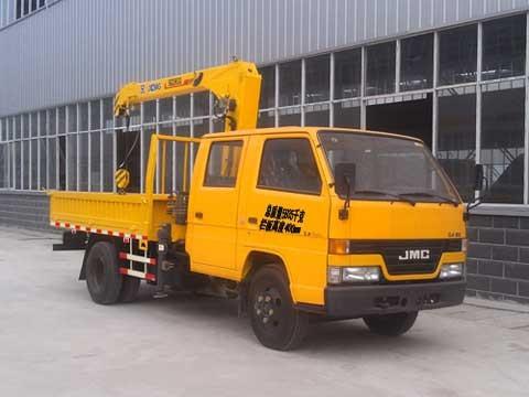 楚飞江铃(2吨/国四)随车起重运输车