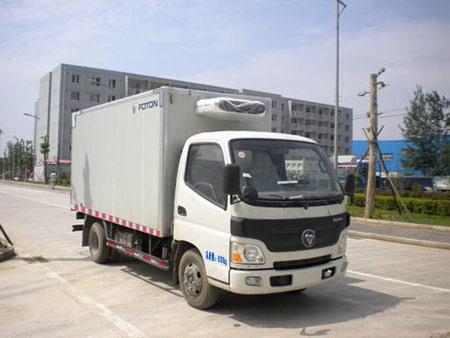 楚飞福田牌BJ5041XLC-FB型冷藏车