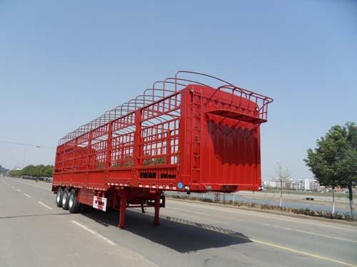 楚飞三轴/33.5吨仓栅式运输半挂车