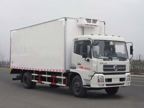 楚飞国四东风天锦冷藏车(DFL1160BX5/8.8吨)高清图 - 外观
