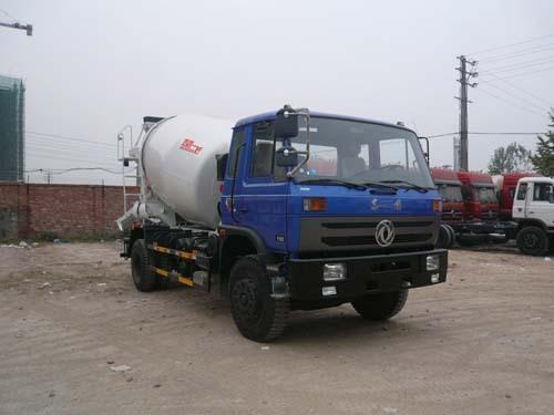 楚飞东风4X2(2.34立方/5吨)混凝土搅拌运输车