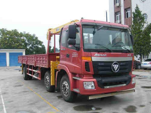 楚飞福田欧曼小三轴(10-12吨)随车起重运输车
