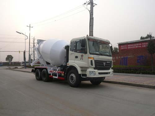 楚飞福田后双桥(4.8立方/10.3吨)混凝土搅拌运输车
