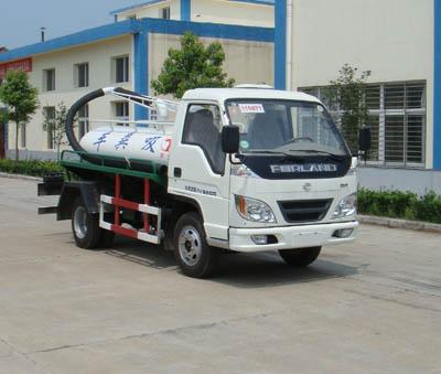 楚飞福田小型(1吨-2吨)吸粪车、抽粪车、沼气废气收集车高清图 - 外观
