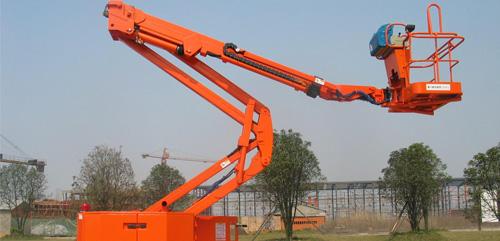 航天晨光CGJ-PZ-15A自行走混合臂式高空作业平台高清图 - 外观