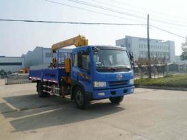 楚飞解放(5-6.3吨)随车起重运输车/随车吊