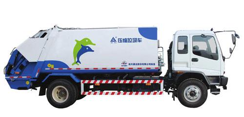 航天晨光CGJ5143ZYS压缩式垃圾车高清图 - 外观
