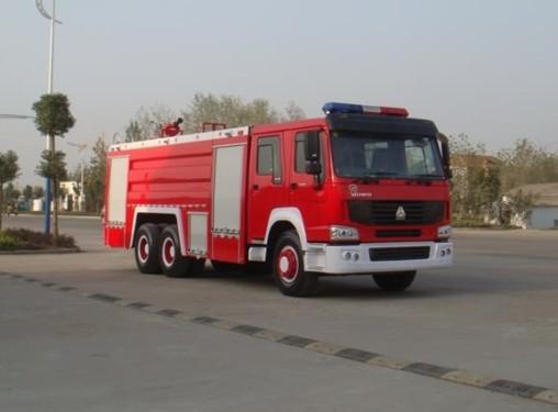 楚飞重汽后双桥(12.3立方)水罐消防车