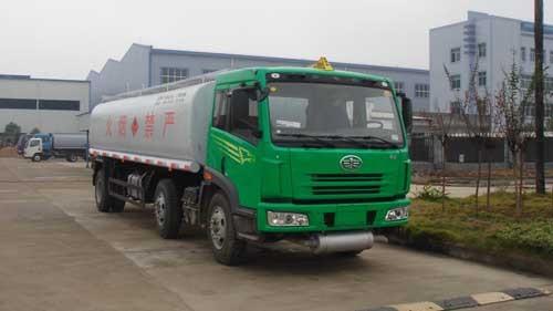 楚飞解放小三轴(23立方)化工液体运输车