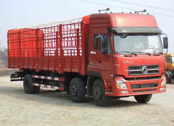 楚飞东风牌DFL5203CCQA1型仓栅式运输车高清图 - 外观