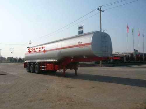 楚飞三轴化工液体(47.5立方)运输半挂车