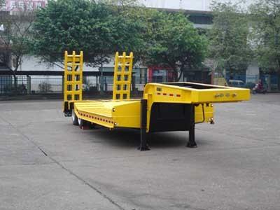 楚飞双轴低平板/27.5吨半挂车