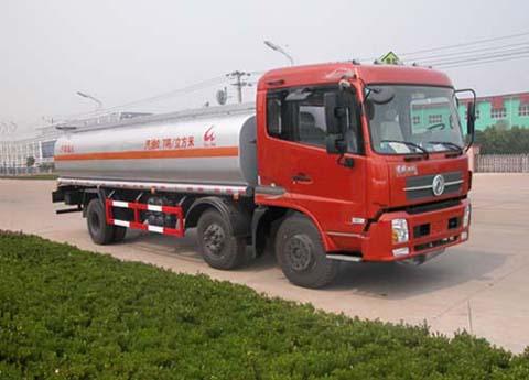 楚飞东风天锦小三轴(15立方)化工液体运输车高清图 - 外观