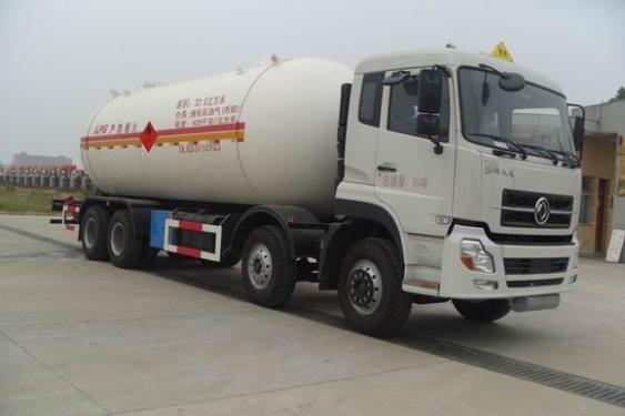 楚飞东风天龙32立方液化气体运输车
