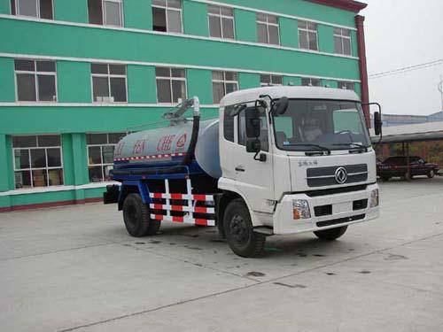 楚飞东风天锦(6吨-8吨)吸粪车、抽粪车、沼气废气收集车高清图 - 外观