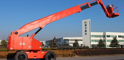 航天晨光CGJ-PS-24A自行走混合臂式高空作业平台高清图 - 外观