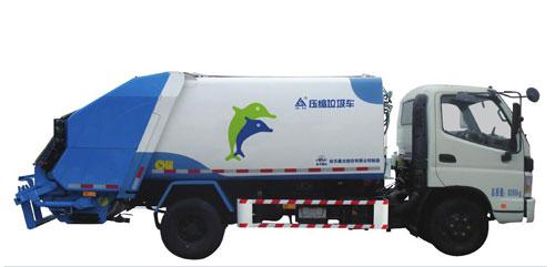 航天晨光CGJ5081ZYSE5压缩式垃圾车高清图 - 外观
