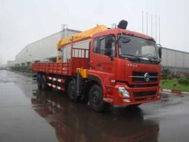 楚飞东风天龙前四后八(16吨)随车起重运输车