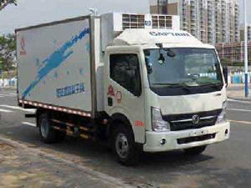 楚飞东风牌EQ5040XLC9BDDAC型冷藏车高清图 - 外观