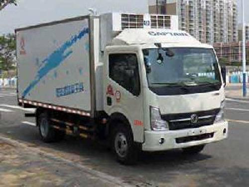 楚飞东风牌EQ5040XLC9BDDAC型冷藏车