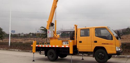 航天晨光CGJ5066JGK折叠臂式�擅�半仙低�喝道高空作业车