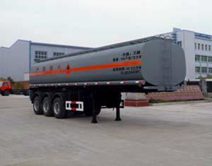 楚飛三軸化工液體/34.5立方運輸半掛車高清圖 - 外觀