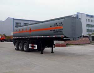 楚飞三轴化工液体/34.5立方运输半挂车