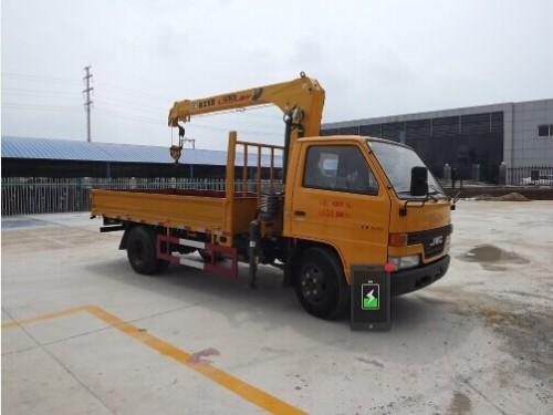 楚飞江铃(2吨/单排)随车起重运输车