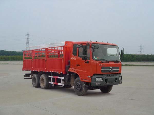 楚飞东风牌DFL5200CCQB型仓栅式运输车高清图 - 外观