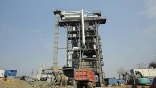 三一重工RZS120沥青混合料热再生设备
