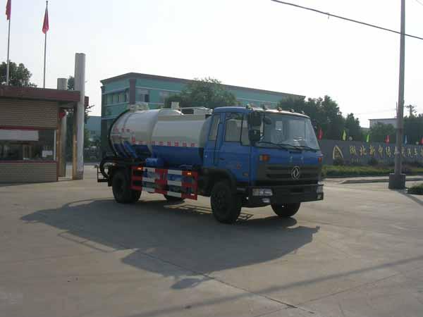 楚飞东风平头153(4.7立方)清洗吸污车两用车高清图 - 外观